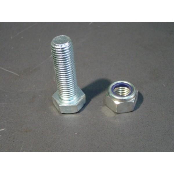 Tornillo de acero hex din933 m24x80 8 8 zn - Tornillos de acero ...